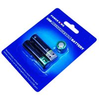 Power King AA 500mAH USB Rechargeable Battery
