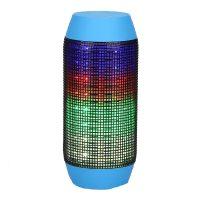 Pulse Wireless Bluetooth LED Speaker - Blue