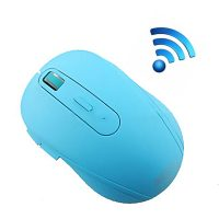 LGRF-6050 Wireless 2.4G Optical Silent Gaming Mouse - Blue
