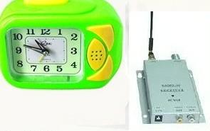 RF Wireless Clock with Spy Camera