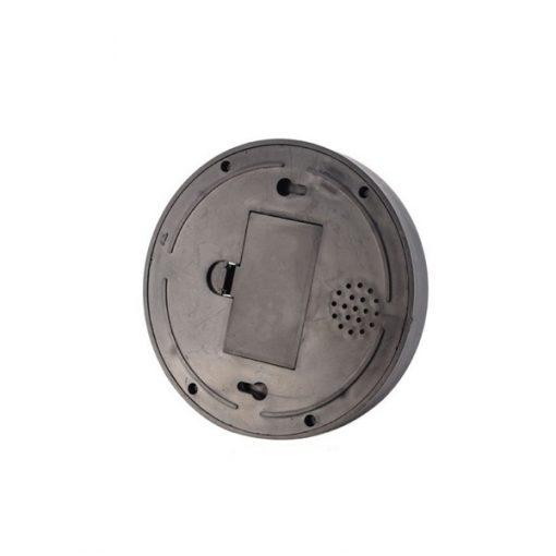 Battery Operated Realistic Looking Hemisphere Shape Dummy CCTV Camera - Black