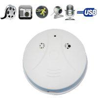 HD Surveillance Camera  Smoke Detector