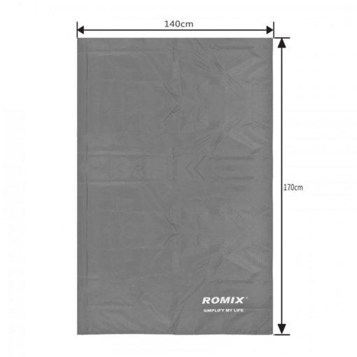 Romix RH32 Waterproof Foldable Picnic Sheet With Bag 110 x 160 mm - GREY