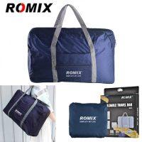 ROMIX RH43 Foldable Water Resistant Nylon Travel Luggage Bag - Blue