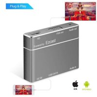 EZcast Screen Mirroring HD/VGA Converter for iPhone / Android - Silver