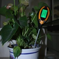4 in 1 Electronic Soil Temperature Survey - Yellow