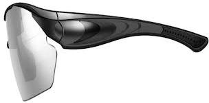 720P with 170 Degree Wide-Angle Sports Hidden Camera Sunglasses - Black