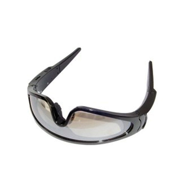 Goggles Eyeglass With Video Camera - Black