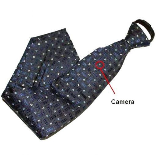 Neck Tie With 4Gb Spy Camera And Wireless Remote Control - Blue