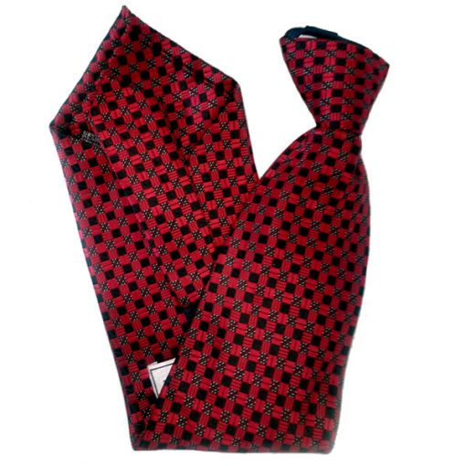 Neck Tie With 4Gb Spy Camera And Wireless Remote Control - Red