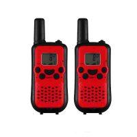 5KM Nonradiative Small Easy to Carry Pocket Digital Walkie Talkie - Red/Black