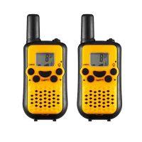 5KM Nonradiative Small Easy to Carry Pocket Digital Walkie Talkie - Yellow/Black