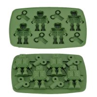 Robot Ice Cube Tray - Green