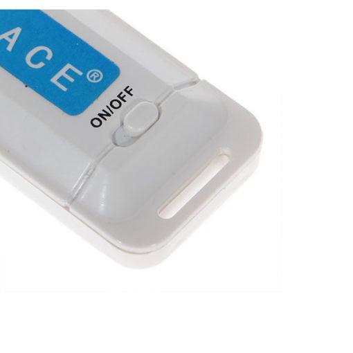 One Button Micro USB Digital Voice Recorder Data Traveler  - White