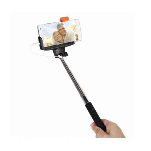 Monopod Selfiepod With Wired Shutter - Black