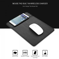 QI Wireless Charging Mouse Pad - Black