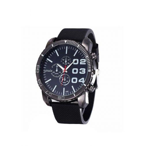 Men Stainless Sport Watch - Black