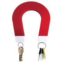 Magnetic Key Holder- Red/White