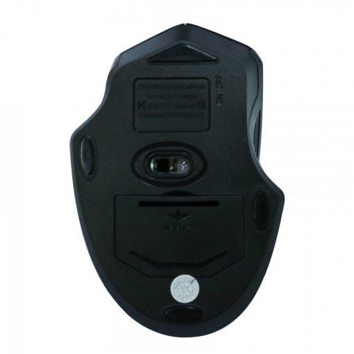Portable Optical Wireless USB Mouse 2.4Ghz USB 3.0 Bluetooth - Black
