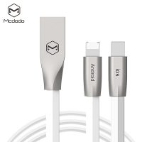 Mcdodo  1 Meter Reversible Lightning and Micro USB Data Cable - White