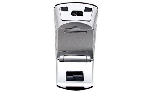 2.4GHz Wireless Folding Arc Mouse - Grey