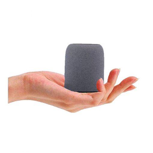 Mini Bluetooth Speaker With Case - Grey/Black
