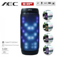 AEC Bluetooth Speaker With NFC MP3 And FM Radio BQ-615PRO - Black