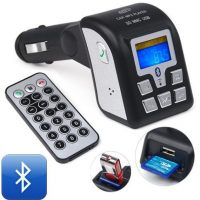 Car Bluetooth and MP3 Wireless FM Modulator