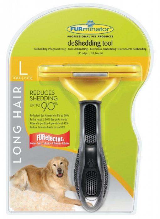 Furminator Deshedding Tool for Large Dogs