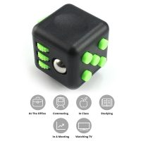 Fidget Cube Stress And Anxiety Reliever - Black