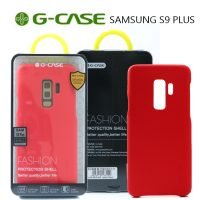 GCase  TPU Leather Series Protective Shell Back Cover for Samsung S9 Plus - Red