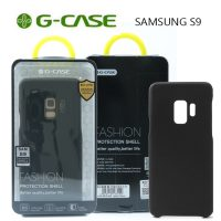 GCase  TPU Leather Series Protective Shell Back Cover for Samsung S9 - Black