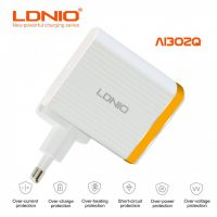 LDNIO AI302Q QC3.0 Charger - Gold