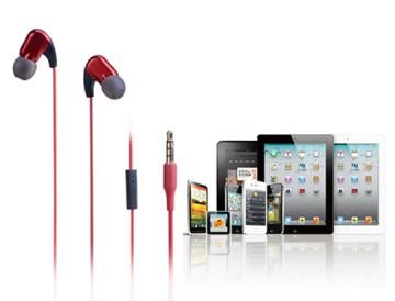 Avantree Super Bass Sports Headphone - Atom (Red/Black)