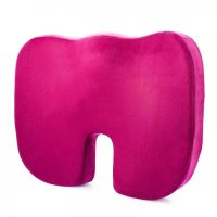Memory Foam Orthopedic Seat Cushion - Pink