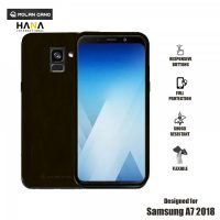 Molan Cano Ultra Lightweight Protective Soft TPU Case for  Samsung Galaxy A7- Black