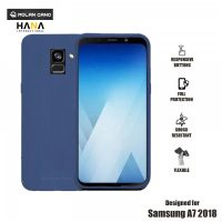 Molan Cano Ultra Lightweight Protective Soft TPU Case for  Samsung Galaxy A7- Blue