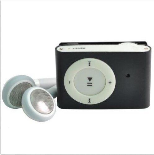 MP3 Player with Hidden Camera and Video Recorder - Black