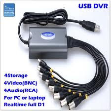 CCTV BNC Adaptor to USB Link Cable
