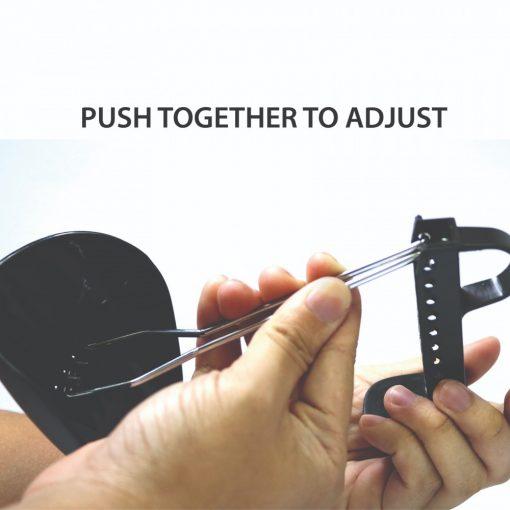 Adjustable Plastic Shoe Stretcher Tree For Women - Black