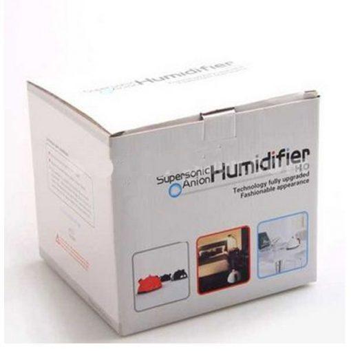 Mini Ultrasonic Supersonic Anion Kettle Humidifier- White