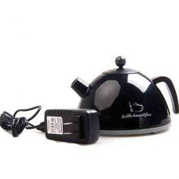 Mini Ultrasonic Supersonic Anion Kettle Humidifier - Black