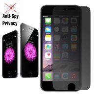 Privacy Screen Tinted Tempered Glass Screen Protector for iPhone 6 Plus