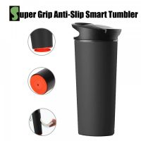 540 ml Spill Free Double Walled Vacuum Tumbler - Black