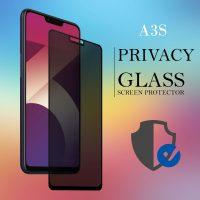 Oppo A3S Privacy Full Screen Temper Glass