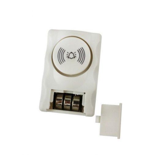 Window And Door Battery Operated Alarm Sensor - White