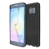Stick Anywhere Micro Suction Anti Gravity Case  For Samsung S6 Edge - Black