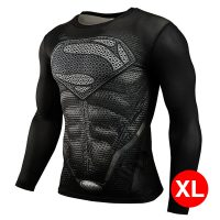 Super Hero Compression Wear Superman XL - Black