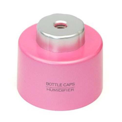 USB Bottle Cap Air Humidifier- Pink