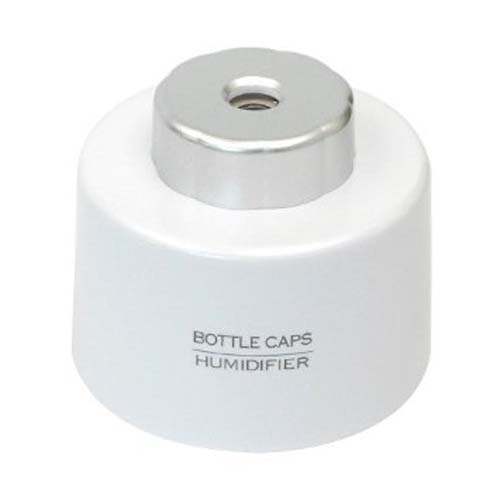 USB Bottle Cap Air Humidifier- White
